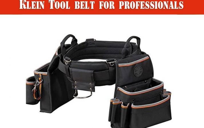 best Klein tool belt