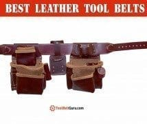 best leather tool belt